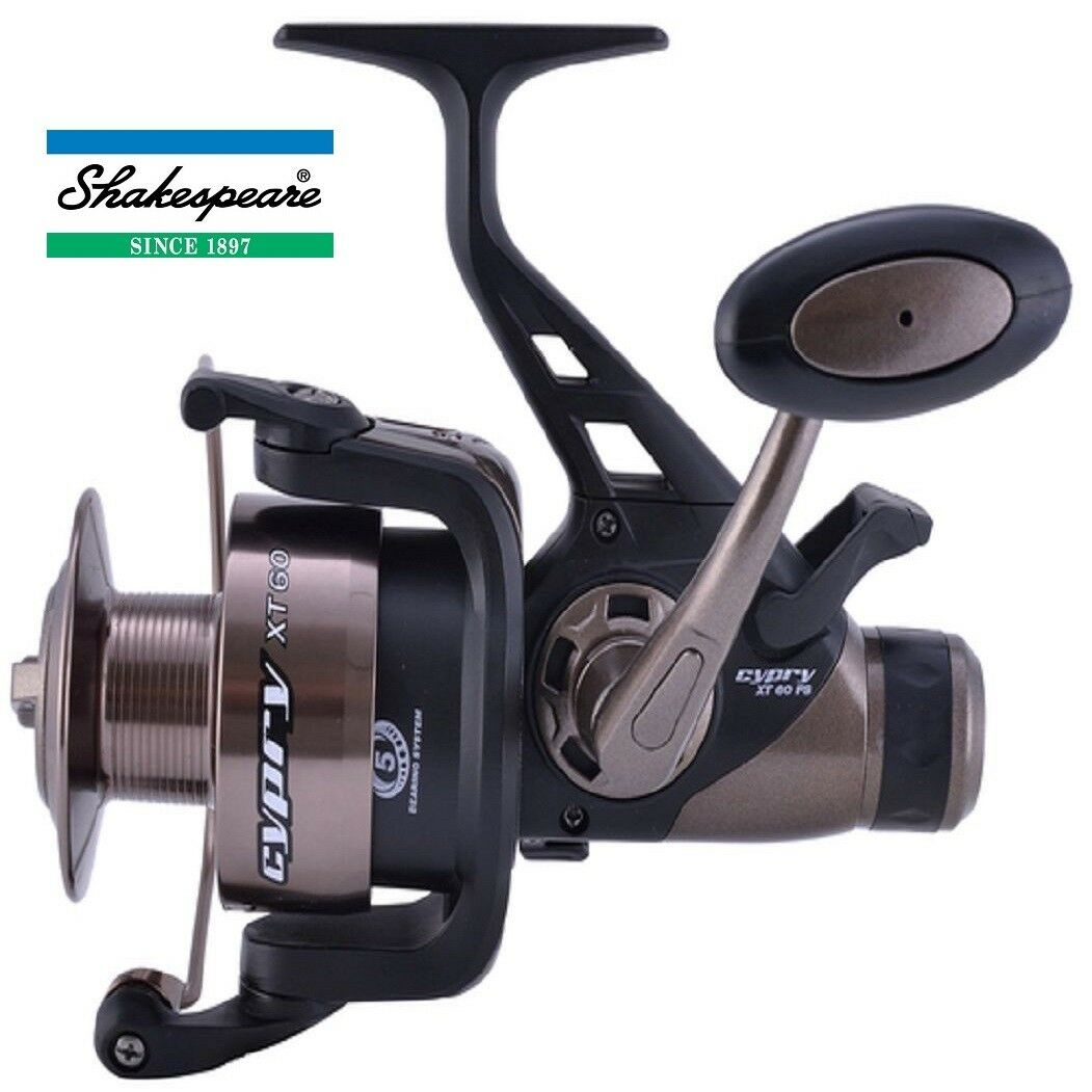 Shakespeare Cypry XT 60 FS Spinning Reel - Model 1381054  New 2019 Model -  1c5583