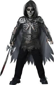 Child Skull Knight Medieval Renaissance Costume