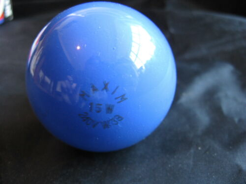 5 x Maxim Blue 15W B22 BC Coloured Lamp Light Bulb 240V UK Seller Job Lot