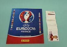 Panini EM Euro 2016 France Leeralbum + 200 verschiedene Sticker Neu Album