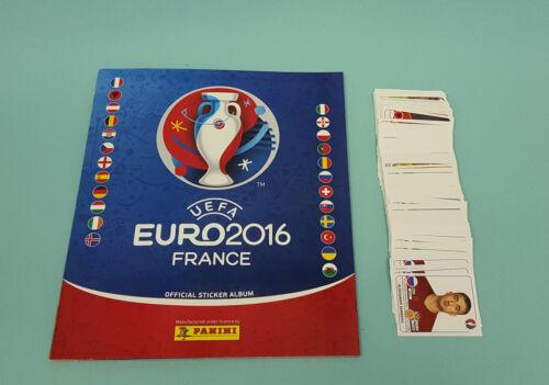 200 verschiedene Sticker Neu Album Panini EM Euro 2016 France Leeralbum