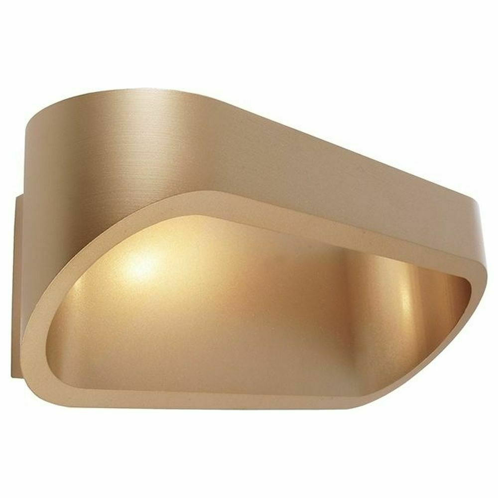 LED Wandleuchte Elevato in Messing 5W 304lm