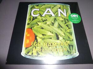 CAN-Ege-Bamyasi-LP-ltd-green-Vinyl-Neu-amp-OVP-incl-DLC