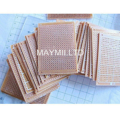 Affordable 10Pcs 5 x 7 cm DIY Prototype Paper PCB Universal Board Breadboard I