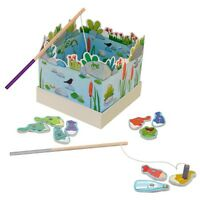 French Moulin Roty Fishing Game Toy