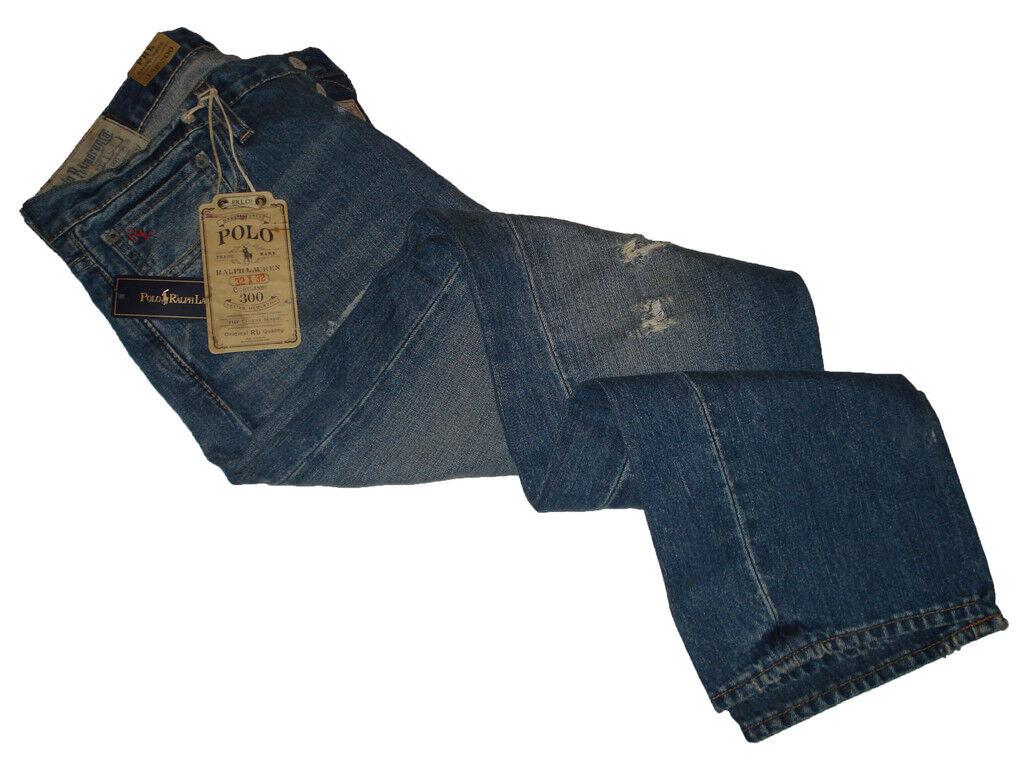 Ralph Lauren Polo Low Rise Straight Jeans Denim 34 x 32