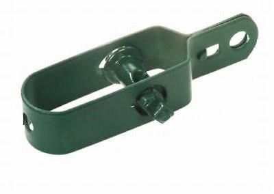 25 Stück Drahtspanner grün oder verzinkt ,Zaunspanner,Wildzaun,Zäune
