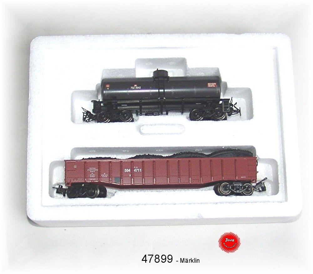 Märklin 47899 2-parte. carri merci-Set