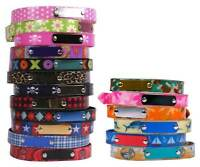 Elements Personalized Dog Collar W/ Engraved Name Plate 16 Designs All Weather