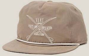 69a5505e080 Vans Off The Wall Wanderer Surf Club Brown Snapback Soft Crown ...