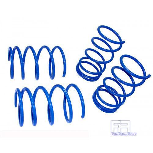 "Manzo Lowering Springs Kit Blue For 10-13 KIA Soul Drop Suspension F 1/"" 1/"" R"