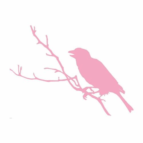 Multiple Color /& Sizes ebn801 Bird Perched Vinyl Decal Sticker