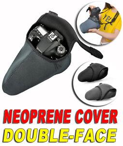 COVER NEOPRENE CASE POUCH BAG LARGE ADATTO A PANASONIC LUMIX FZ1000 MARK I II G9