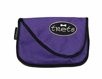 Woof Hoof Lime Green Magnetic Dog Cat Treat Pouch Training Rewards Bag For...