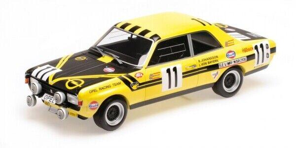 Opel Commodore A Steinmetz Von Bayern Johansson 24h Spa 1970 1 43 modello
