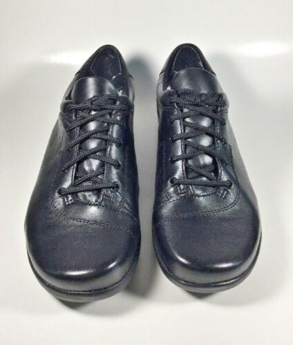 J6267 New Women/'s Klogs Pisa Black Lace Up Clog Size 7.5 M