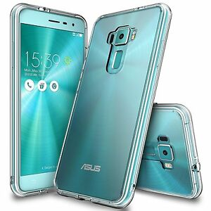 For-Asus-ZenFone-3-Ringke-FUSION-Clear-TPU-Bumper-Drop-Protection-Technology