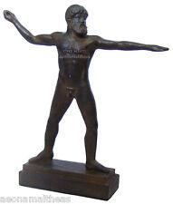 Zeus-THUNDER ILUMINACIÓN Pose-estatuilla de la Suprema Dios Griego - 24cm
