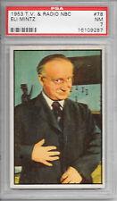 1953 T.V. & Radio NBC #78 Eli Mintz PSA 7 NM