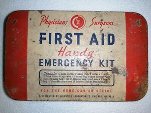 Kit vintage di primo soccorso