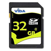 Neu 32gb Sd Sdhc Speicherkarte Class 10 Uhs-1 Für Samsung Tl350 (wb2000) Kamera