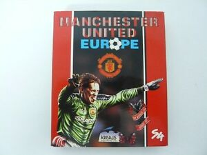 Manchester-United-Europe-Retro-PC-Caja-de-carton-mediana-Disquetes