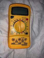 Mastech Mas830l Digital Multimeter Complete In Box
