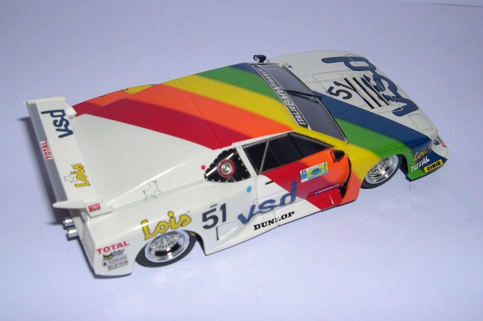 Racer Sideways Sw39 BMW M1 Gr.5    51 24h Ilmc 1981 Team Italien-Frankreich Vsd MB 12810d