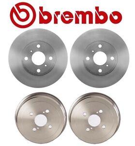 Chevrolet Geo Toyota Corolla 2 Brembo Front Disc Brake Rotors 4351212550 Fits