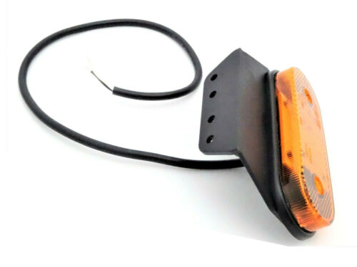 2x LED Begrenzungsleuchte 12//24V Umrissleuchte Anhänger LKW 120x74x45mm gelb SET