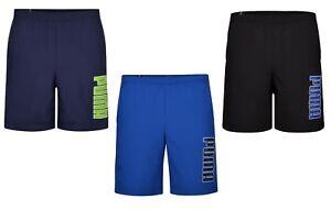 New-Men-039-s-PUMA-Logo-Shorts-Casual-Swim-Swimming-Beach-Summer-Holiday