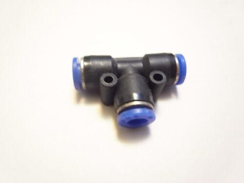 Pneumatik Kupplung Verbinder Stecker für 12 mm Schlauch T stück ETPE12