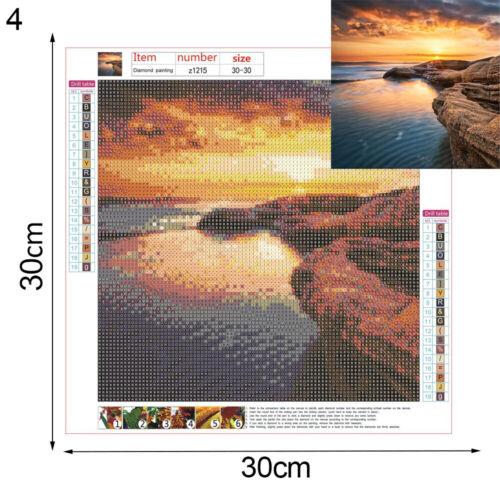 5D Diamond Painting Landscape Scenery Full Drill Embroidery Rhinestones DIY Kit
