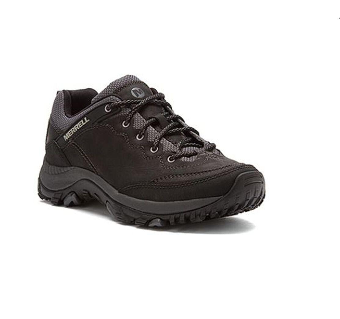 NWT Merrell Women's Salida Trekker Shoes Full Grain Leather Shoes Retail $100