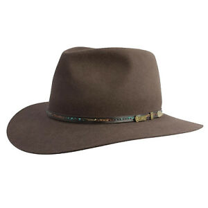 Akubra-Leisure-Time-Urban-Lifestyle-Australian-Made-REGENCY-FAWN-Size-55-61cm