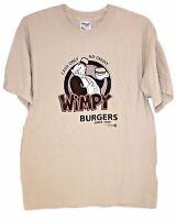 Wimpy Popeye Hamburger T Shirt Medium (2005) J. Wellington Never Worn