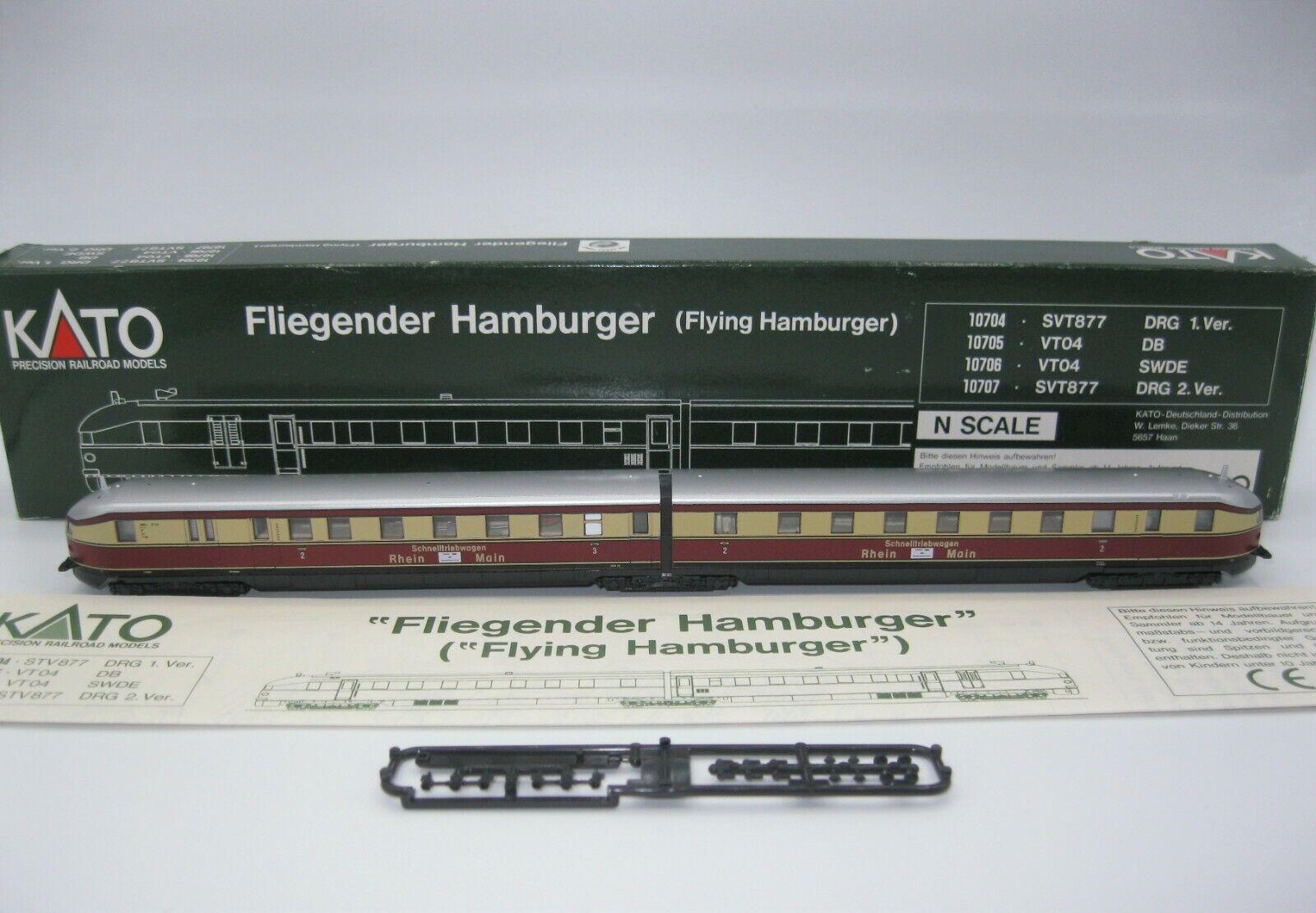 Kato 10706 vt04 magico hamburger SWDE Spur N OVP come nuovo