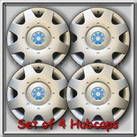 2000- 2001 16 Vw Volkswagen Beetle Blue Daisy Flower Hub Caps, Wheel Covers
