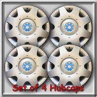 1998 1999 16 Vw Volkswagen Beetle Blue Daisy Flower Hub Caps, Wheel Covers