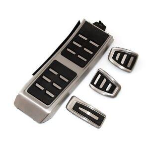Aluminum-Footrest-Clutch-Brake-Pedal-Fuel-MT-Pedal-Cover-For-Audi-A4-A5-S5-A8-8T