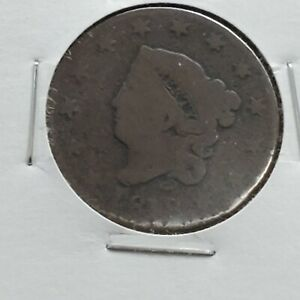 1818-1c-Coronet-Head-Large-Cent-Penny-US-Copper-Affordable-Circulated-Condition