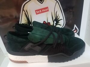 meet a2b8a a62dc Image is loading adidas-x-Alex-Wang-AW-BBall-Suede-Low-