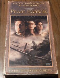 VHS-French-Movie-Box-Set-Pearl-Harbour-Edition-Commemorative-60e-Anniversaire
