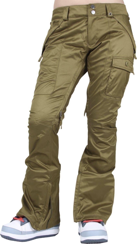 BURTON Woherrar INDULGENCE Pants - Olive - Large - NWT