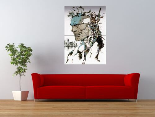 Metal Gear Solid Snake Video Game Giant Wall Art Poster Print