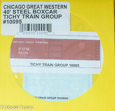 Tichy Train Group #10095 Decal for:Chicago Great Western 40' Single-Door Boxcar