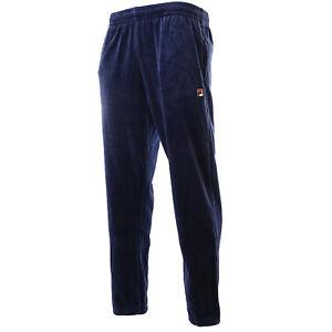 New-Men-039-s-Fila-Filas-Velour-Fleece-Jogger-Pants-Sweatpants