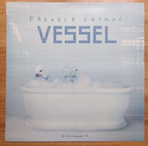 Music Poster Promo Frankie Cosmos Vessel