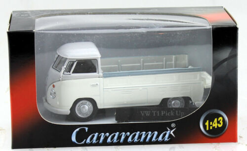 VW T1 Pick up weiß 1:43 Cararama Modellauto