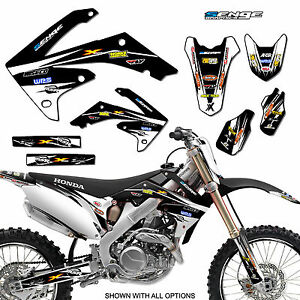 2011 2012 2013 CRF 80 100 GRAPHICS KIT CRF80 CRF100 DECO DECALS STICKERS